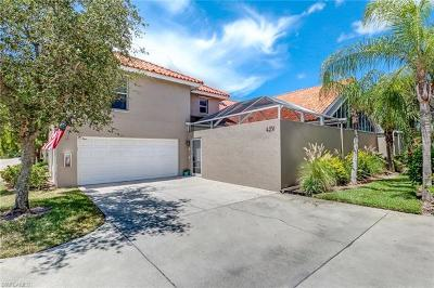 Naples Condo/Townhouse Pending With Contingencies: 4231 Covey Cir #20-B