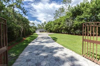 Naples Single Family Home For Sale: 5171 Teak Wood Dr