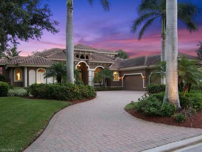 Estero Single Family Home For Sale: 9570 Lakebend Preserve Ct