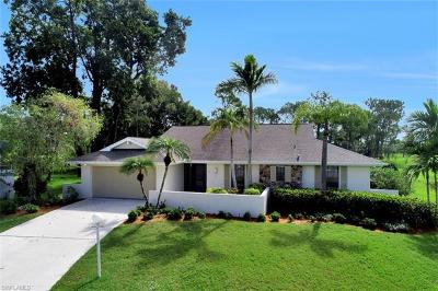 Bonita Springs Single Family Home Pending With Contingencies: 24701 Carnoustie Ct