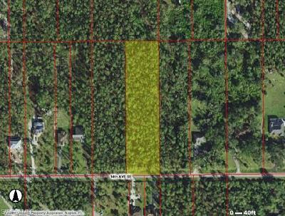 Naples Residential Lots & Land For Sale: 3745 14th Ave SE