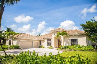 Naples FL Single Family Home For Sale: $1,800,000