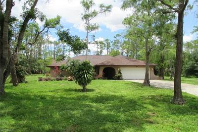 Naples FL Single Family Home Pending With Contingencies: $375,000