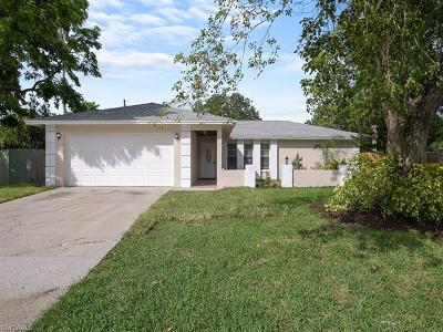 Collier County, Lee County Single Family Home Pending With Contingencies: 2600 47th St SW