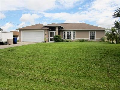 Lee County Single Family Home For Sale: 3726 9th St W