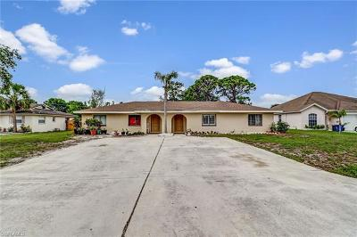 Bonita Springs Multi Family Home For Sale: 3503/3505 Brink Cir