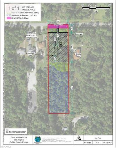 Naples Residential Lots & Land For Sale: 10th Ave SE