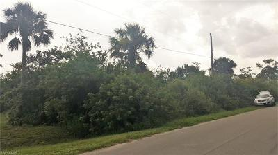 Naples Residential Lots & Land Pending With Contingencies: 18th St SE