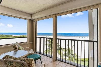Fort Myers Condo/Townhouse For Sale: 6662 Estero Blvd #608