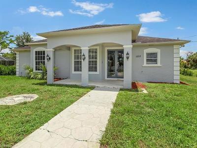 Naples FL Single Family Home For Sale: $324,900