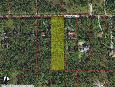 Naples Residential Lots & Land For Sale: 4960 Mahogany Ridge Dr
