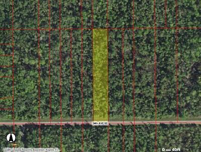 Naples Residential Lots & Land For Sale: Tbd 34th Ave SE