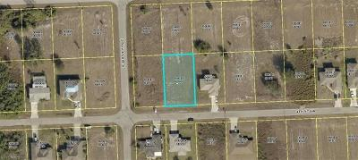 Lee County Residential Lots & Land For Sale: 4116 4th St SW