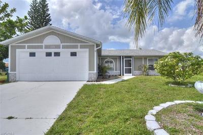 Cape Coral Single Family Home For Sale: 314 NE 27th St