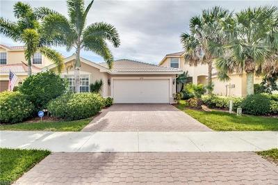 Naples Single Family Home For Sale: 1695 Triangle Palm Ter