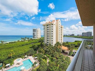 Club At Naples Cay Condo/Townhouse For Sale: 40 Seagate Dr #603