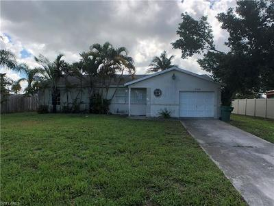Naples Single Family Home For Sale: 3016 54th Ter SW