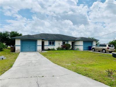 Lehigh Acres Multi Family Home For Sale: 132/134 Pullman St