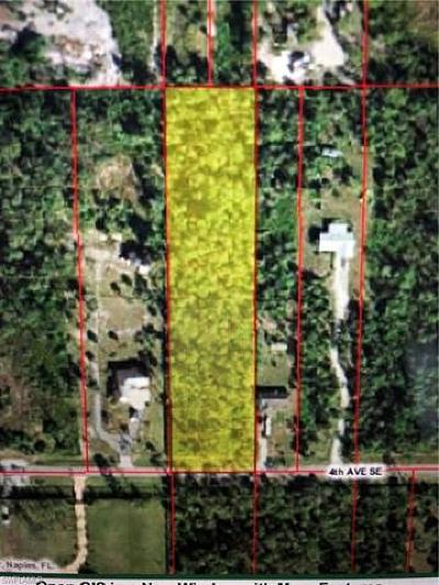 Naples Residential Lots & Land For Sale: 2315 4th Ave SE