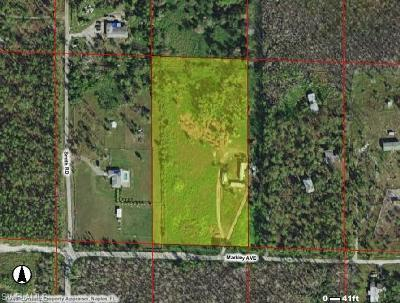 Naples Residential Lots & Land Pending With Contingencies: 1875 Markley Ave