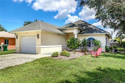 Naples Park Single Family Home For Sale: 863 96th Ave N