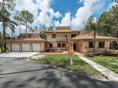 Naples FL Single Family Home For Sale: $1,299,000