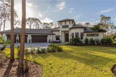 Naples Single Family Home For Sale: 122 Mahogany Dr