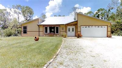 Collier County Single Family Home For Sale: 3091 4th St NE