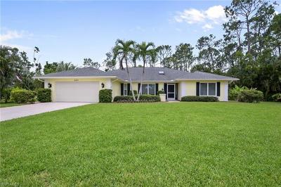 Collier County, Lee County Single Family Home For Sale: 2207 Majestic Ct S