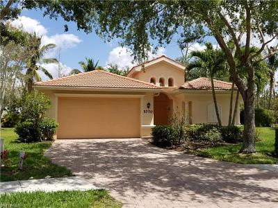 Naples Single Family Home For Sale: 5770 Lago Villaggio Way