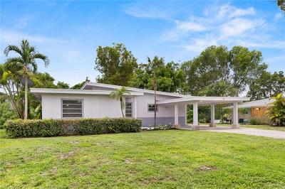 Bonita Springs Single Family Home Pending With Contingencies: 166 2nd St