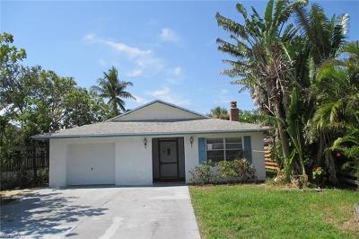 Naples FL Single Family Home Pending With Contingencies: $325,000