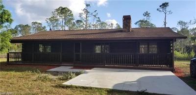 Golden Gate Estates Single Family Home For Sale: 3530 12th Ave SE