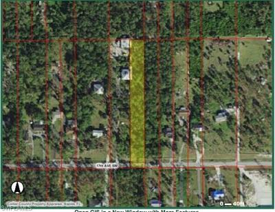 Naples Residential Lots & Land For Sale: 3381 17th Ave SW