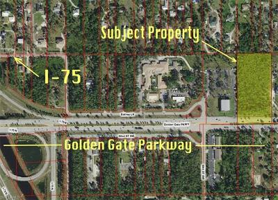 Naples Residential Lots & Land For Sale: 5929 Golden Gate Parkway Pky