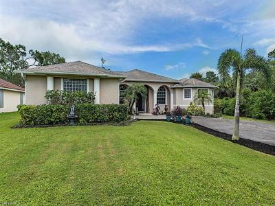 Naples Single Family Home For Sale: 1960 Blue Sage Dr