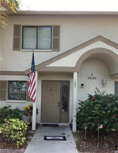 Bonita Springs Condo/Townhouse For Sale: 26586 Southern Pines Dr #105