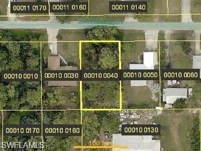 Bonita Springs Residential Lots & Land For Sale: 4641 Santiago Ln
