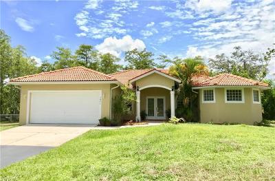 Naples Single Family Home For Sale: 1471 Wilson Blvd N