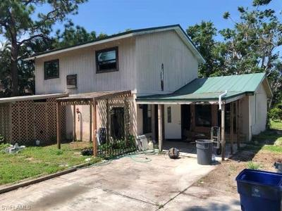 Fort Myers Single Family Home For Sale: 18550 Rosewood Rd