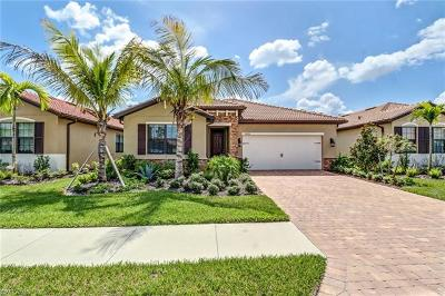 Naples Single Family Home For Sale: 14490 Tuscany Pointe Trl