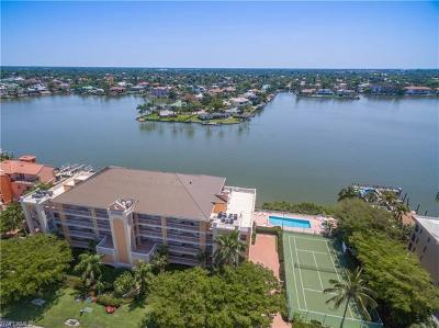 Naples Condo/Townhouse Pending With Contingencies: 9380 Gulf Shore Dr #303