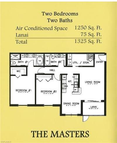 Naples Multi Family Home For Sale: 7915 Preserve Cir #211, 212