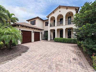 Naples Single Family Home Pending With Contingencies: 2228 Residence Cir
