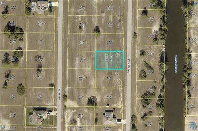 Lee County Residential Lots & Land For Sale: 2810 NW 41st Ave