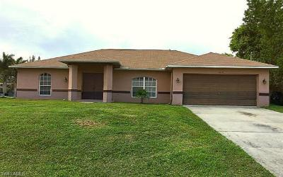 Lee County Single Family Home For Sale: 1633 SW 23rd St