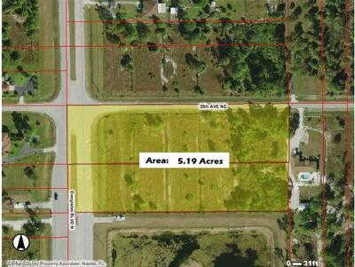 Collier County Residential Lots & Land For Sale: 3474 Everglades Blvd N