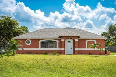 Naples FL Single Family Home Pending With Contingencies: $265,000