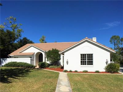 Naples Single Family Home For Sale: 6581 Sandalwood Ln