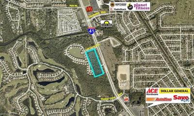 Fort Myers Residential Lots & Land For Sale: 18400 Tamiami Trail South